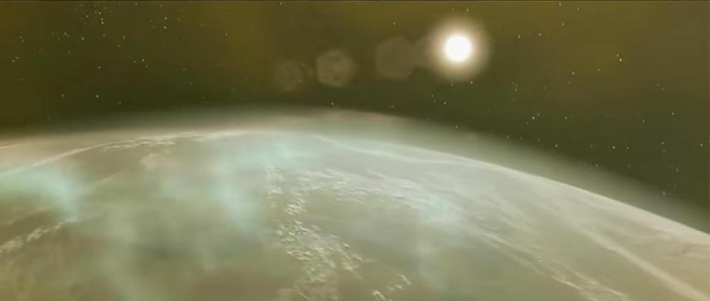 The solar flare