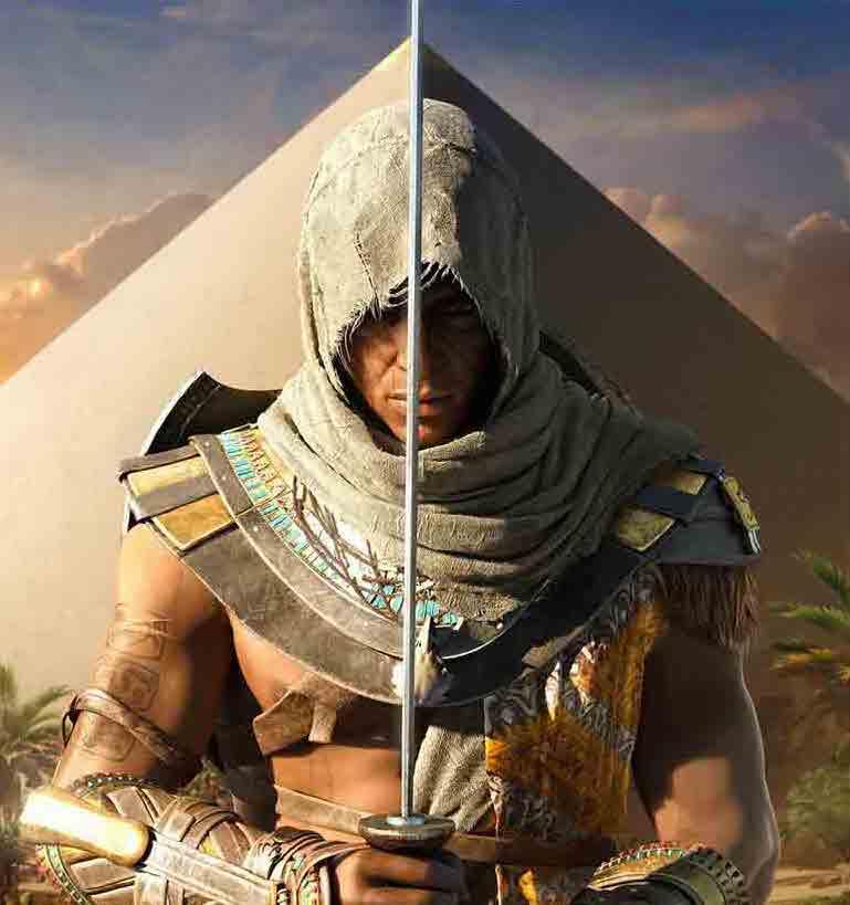 Assassin's Creed Bayek Origins cover