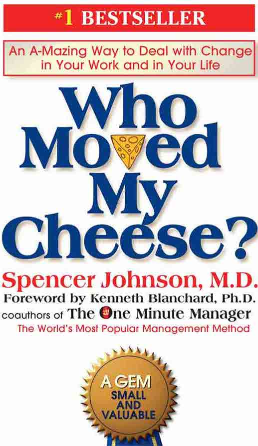 Who moved my cheese - Top books for entrepreneurs