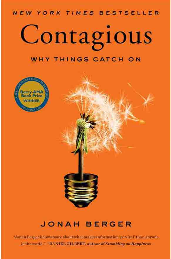 Contagious - Top books for entrepreneurs