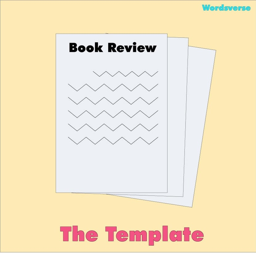 How to write a book review cover image