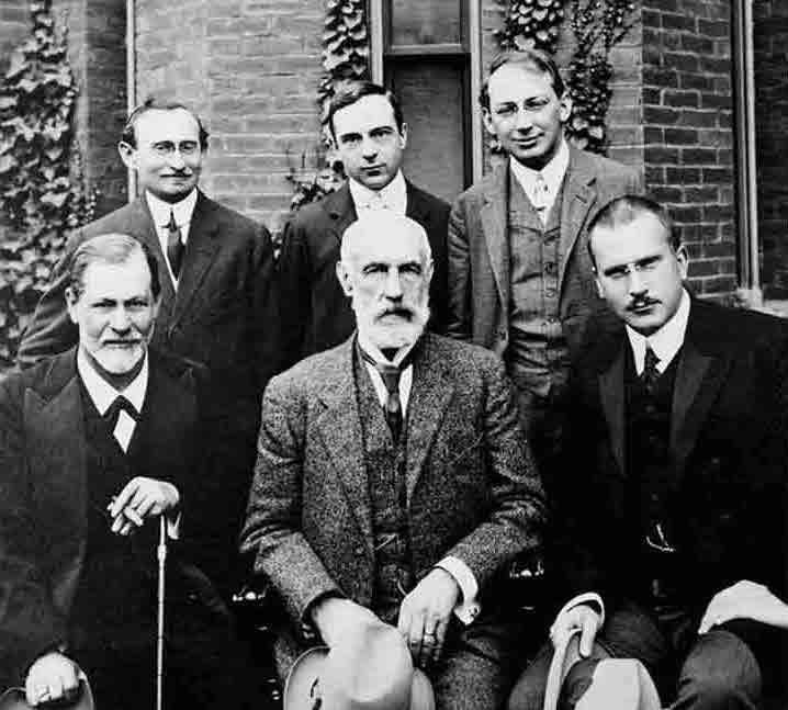 Carl Gustav Jung with Sigmund Freud