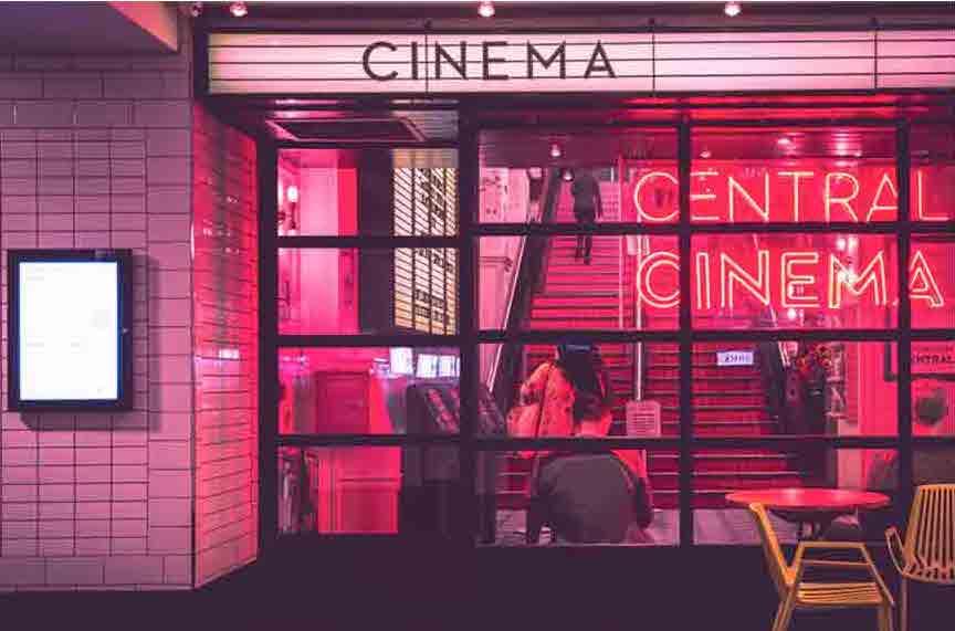 A cinema theatre