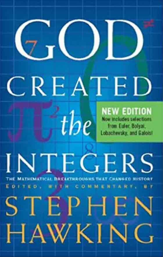 God created the integers Books by Stephen Hawking