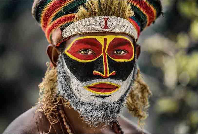 A Tribal Man