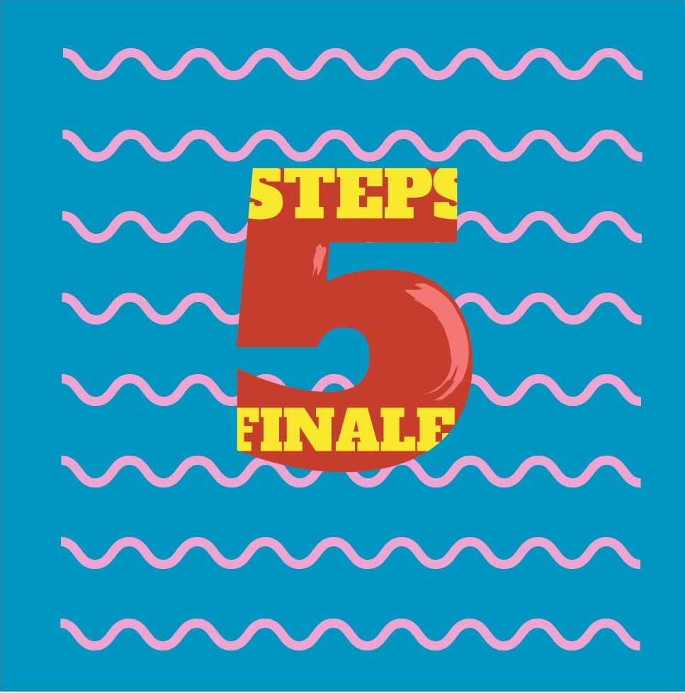 Five-step finale cover image