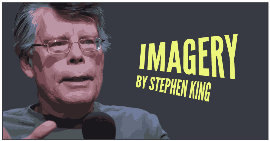Illustration of Stephen king on imagery article