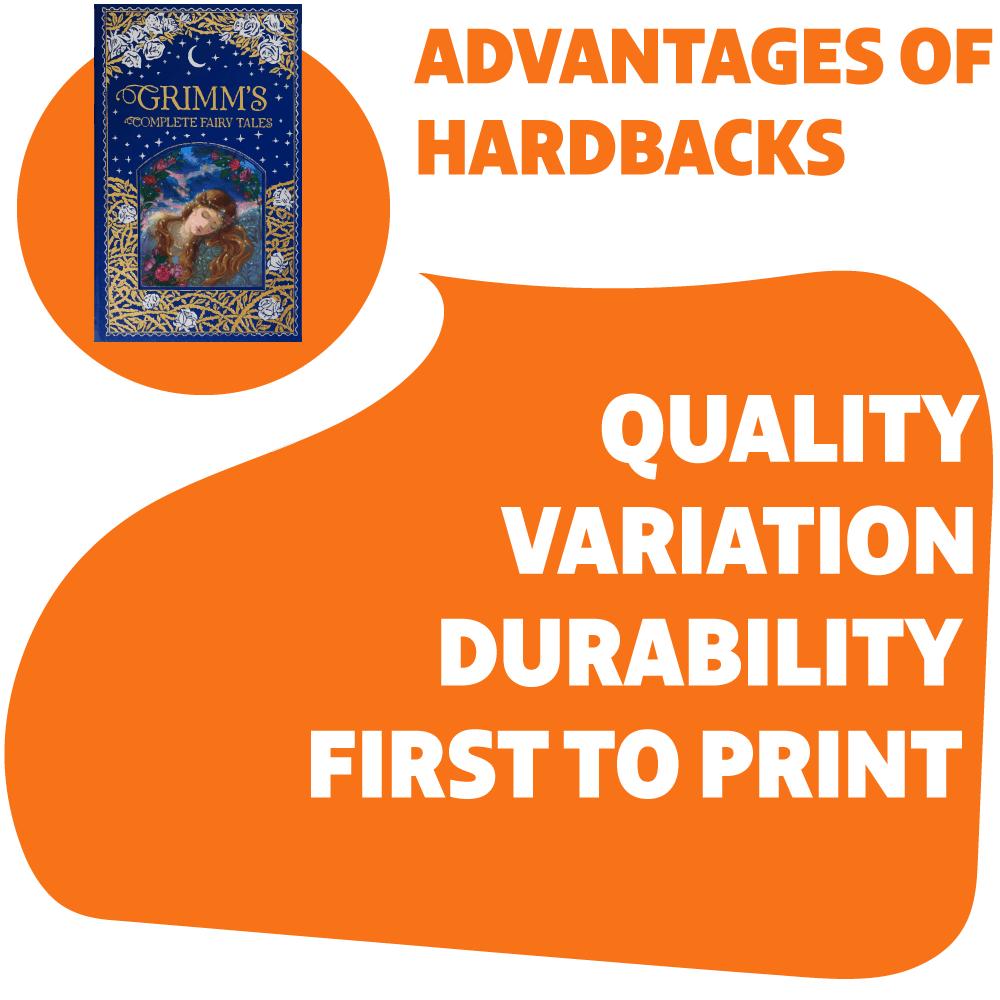 advantages of hardback books