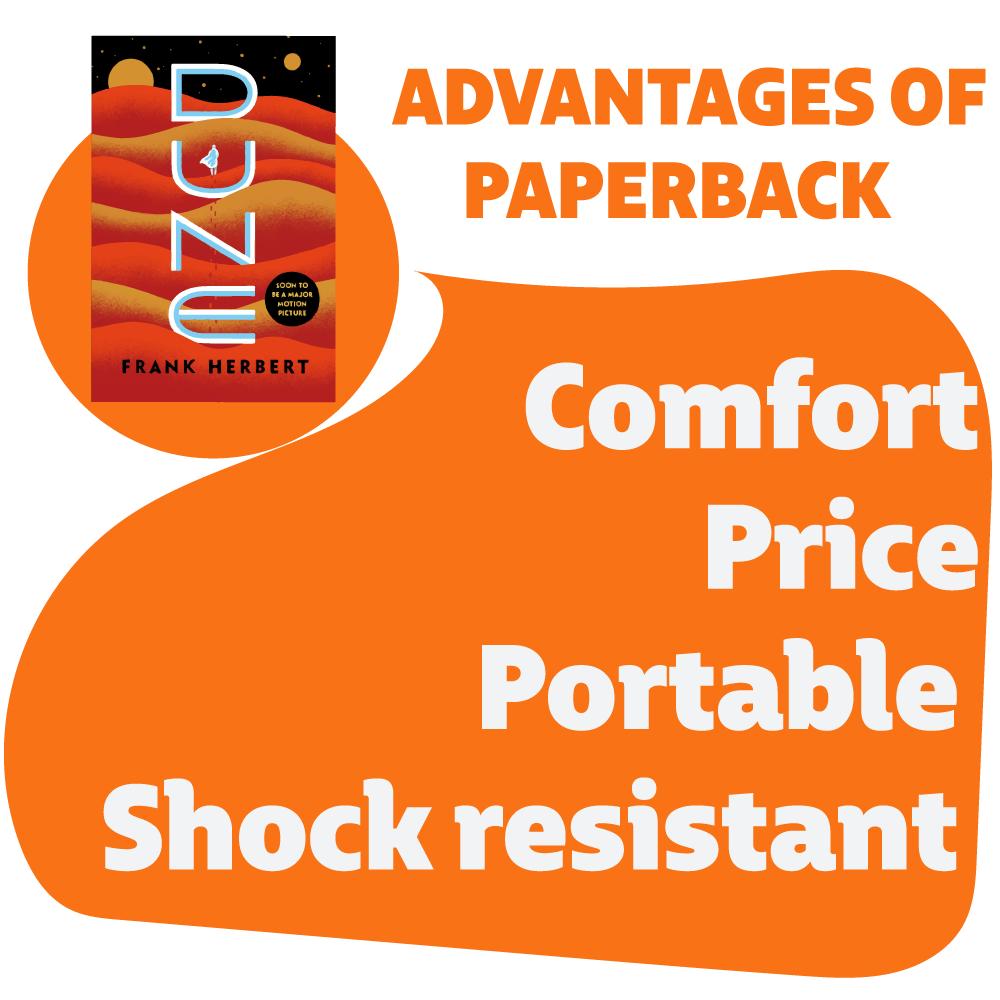 advantages of paperback books