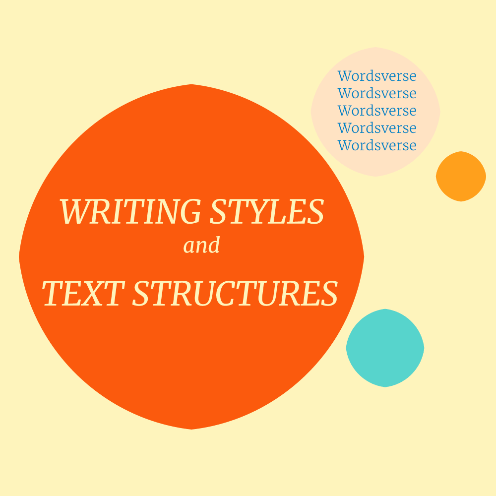 writing styles cover image