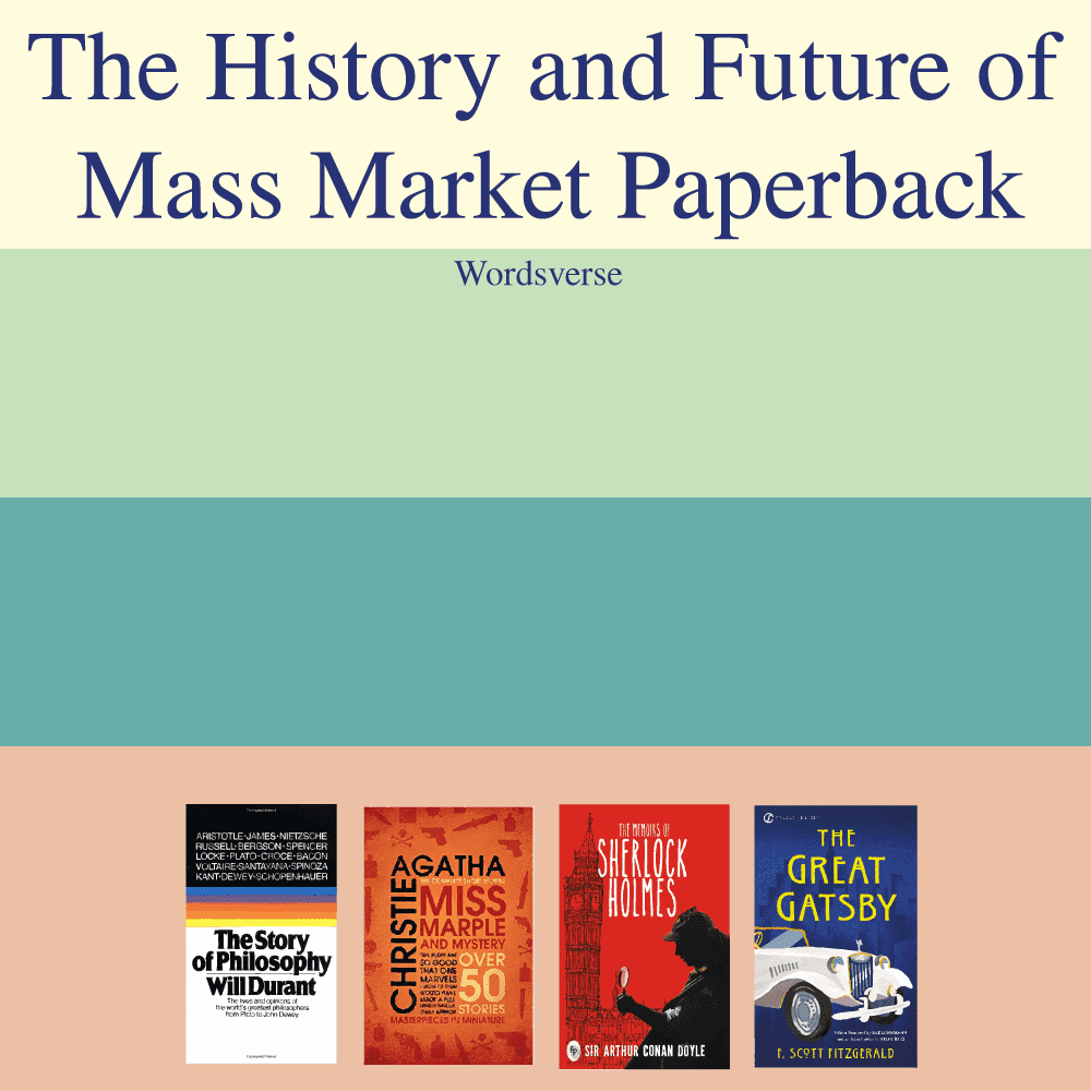 What is a mass market paperback cover image
