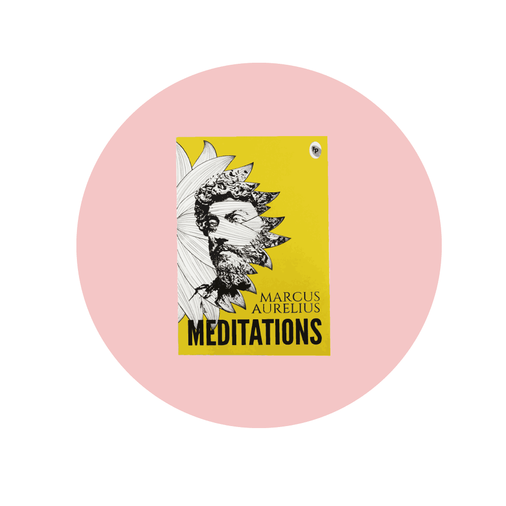 Meditations by Marcus Aurelius,  one of the best books on philosophy
