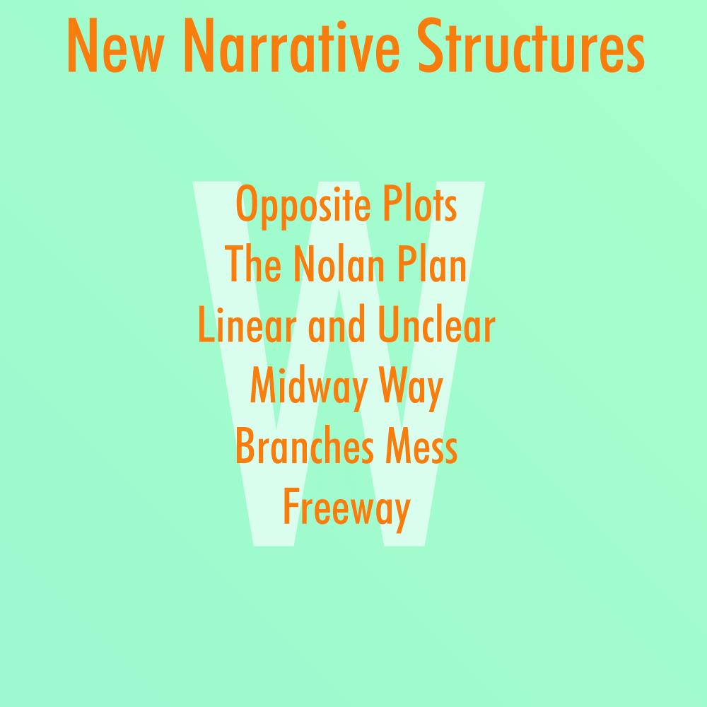 Original narrative structure ideas by wordsverse