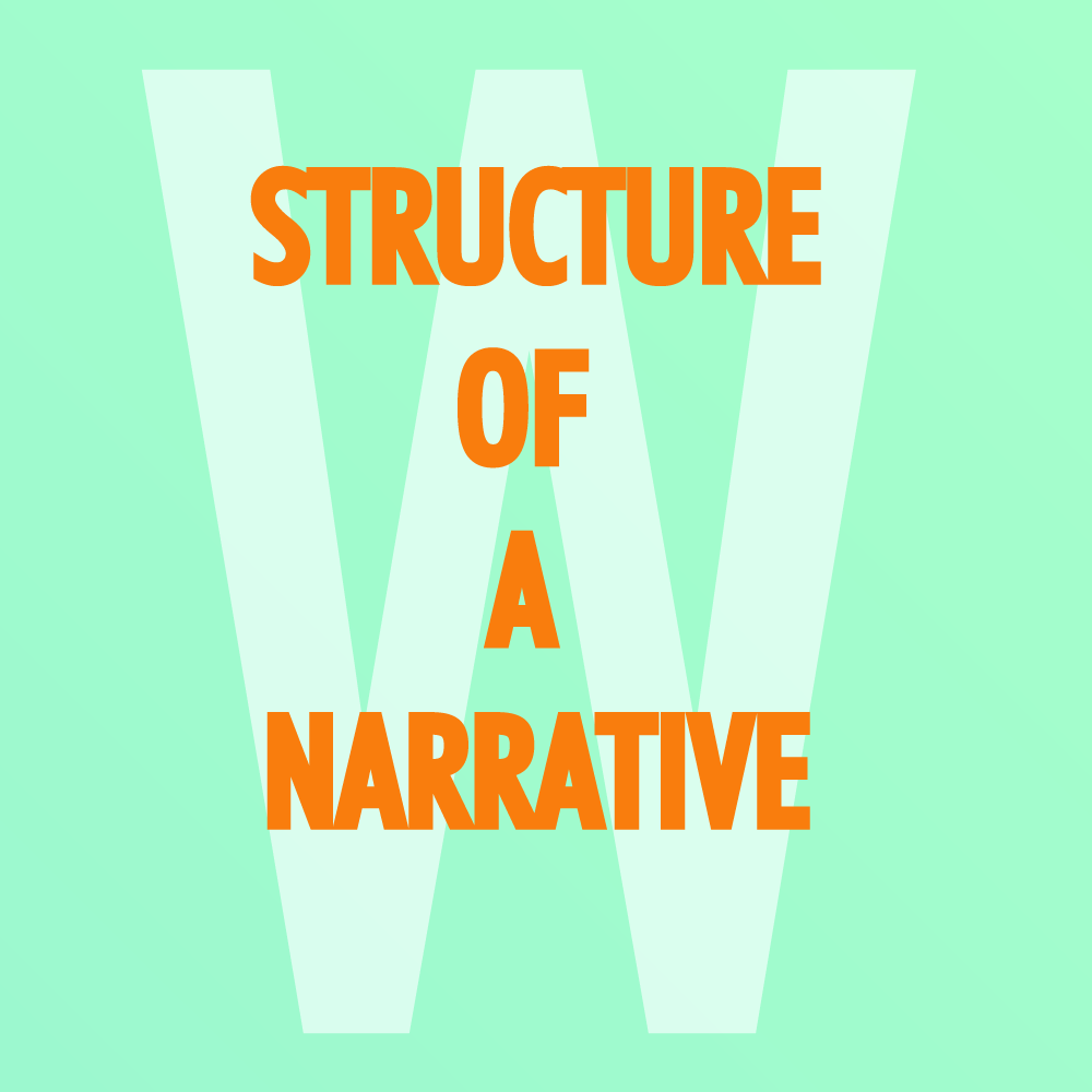 Cover image of structure of a narrative