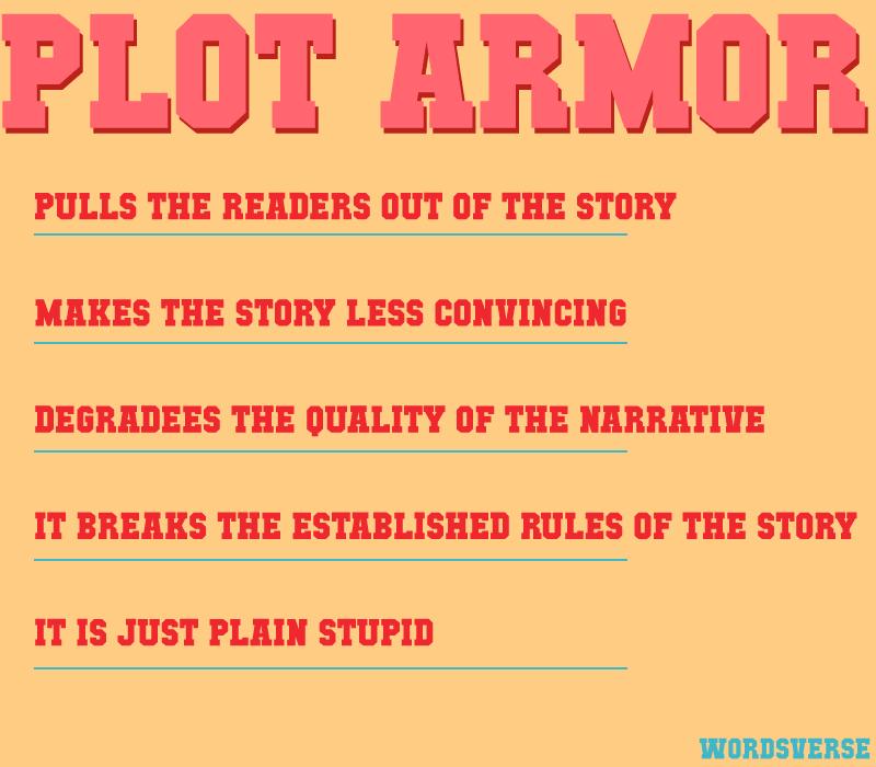 Why to avoid plot armors